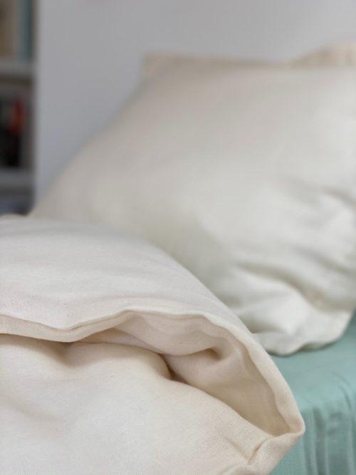 Parure de lit ecru Alice1